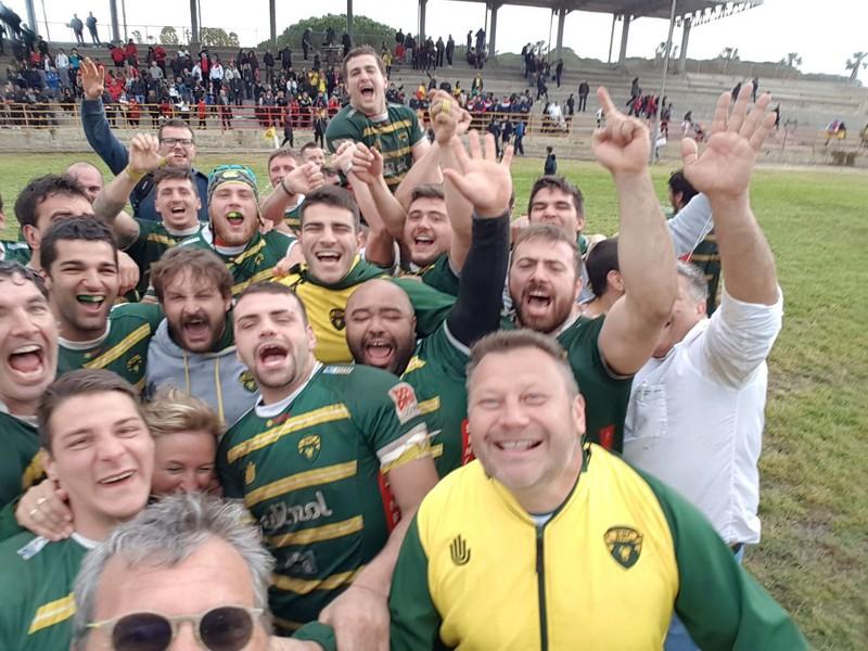 Biella Rugby ritrova Amatori Alghero. La vittoria contro i sardi consegnò la Serie A ai gialloverdi - newsbiella.it