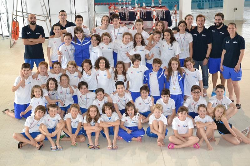 Nuoto dynamic sport protagonista al trofeo dell 39 orso - Piscina rivetti biella ...