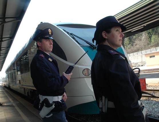 Maxi controlli della Polfer nelle stazioni e nei depositi di ferro