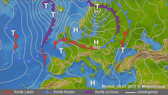 Previsioni meteo per il weekend: da variabile a sereno