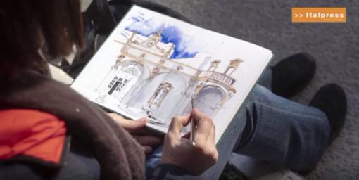 Un Carnet de Voyage racconta Palazzo Lascaris