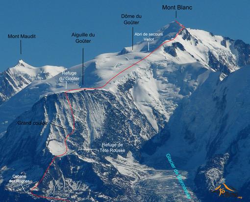 Incidenti montagna: 12enne sul M.Bianco in cordata, soccorsa