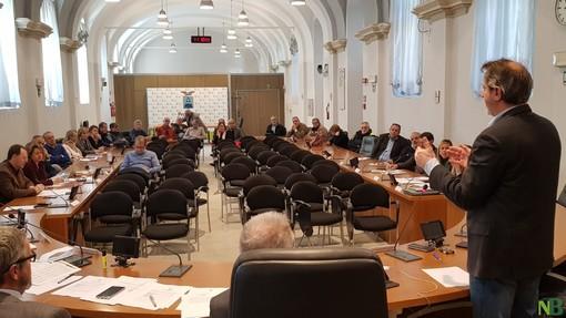 Una seduta del consiglio provinciale - Foto di repertorio