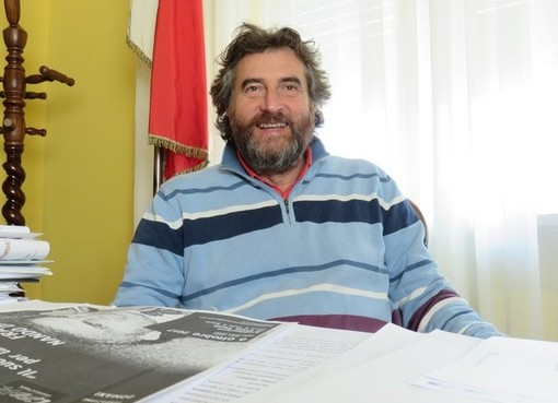 Il sindaco Fabrizio Bertolino - Foto di repertorio