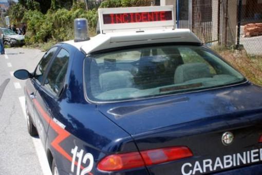 incidente ronco biellese carabinieri