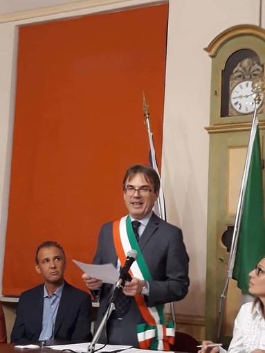 Il sindaco Menegon - Foto pagina Facebook Luca Menegon