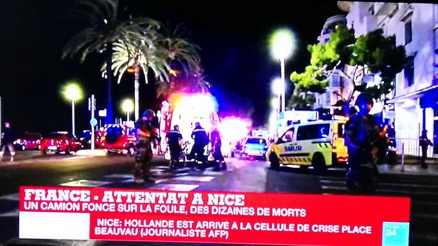 CHIAVERANO. Attentato di Nizza: pensionato grave, gli amputano una gamba
