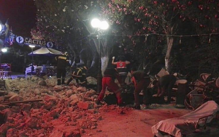 Un terremoto ha colpito il mar Egeo, due morti sull'isola di Kos