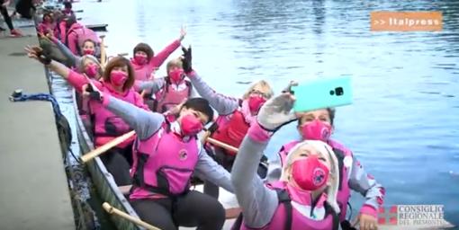 Ottobre rosa, il Consiglio regionale con le Dragonette