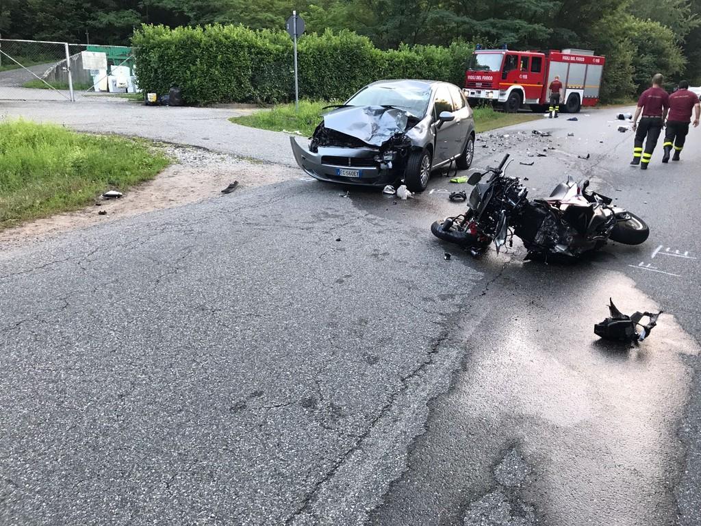 Incidente a Pray, 69enne morto sul colpo per un probabile sorpasso in curva  - Newsbiella.it