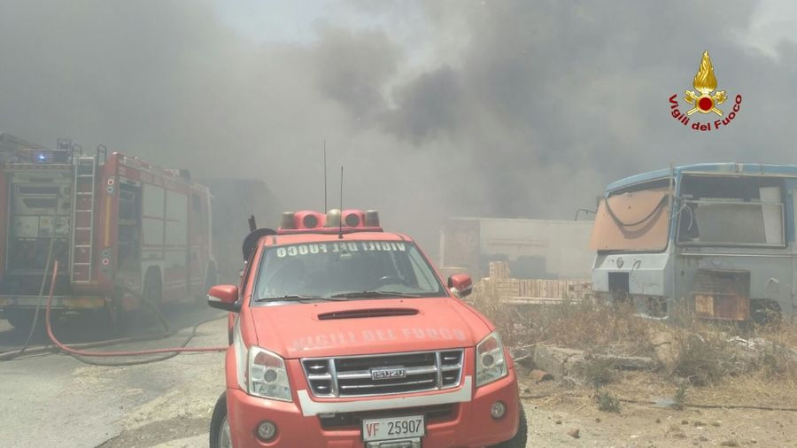 Dal campo scuola dell'Avis di Bonefro al distaccamento dei Vigili del fuoco