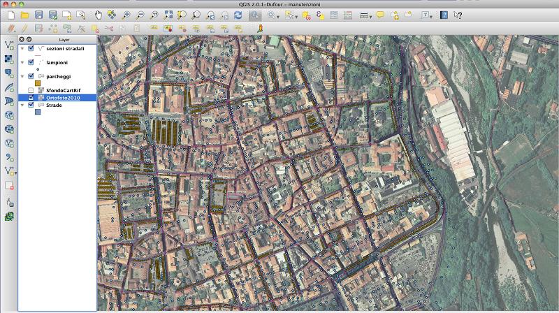 Tutta la citt in una mappa digitale - Progetto casa biella ...