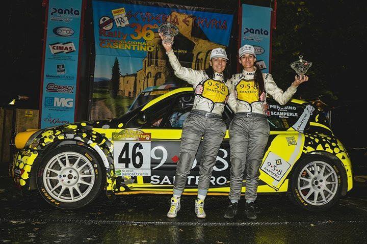 Gianesini e Solari al Monza Rally Show