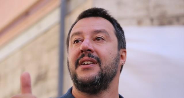 Il 25 aprile di Matteo Salvini a Verona.