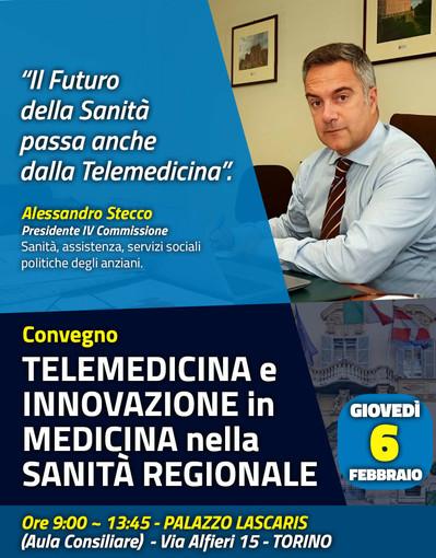 Torino: le opportunità che la digitalizzazione e la teletrasmissione offrono in ambito medico e sanitario, verranno discusse giovedì prossimo presso il Palazzo Lascaris