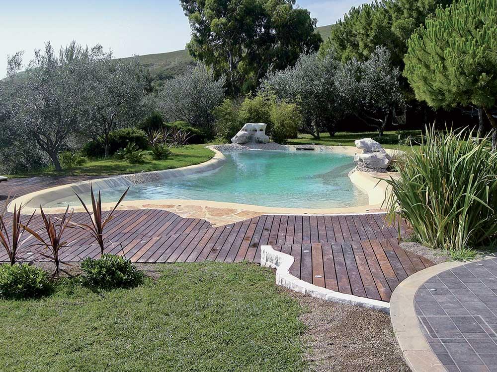 Con kristian marcon una piscina naturale a casa vostra - Piscina naturale ...