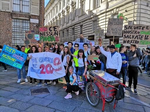 global strike clima studenti