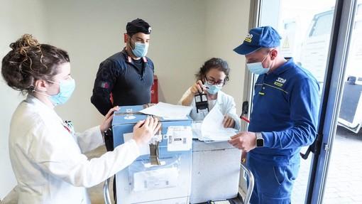 vaccini consegna