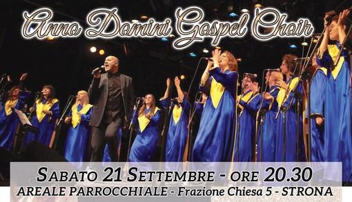 Strona: concerto Gospel per i 10 anni della Koinonia Giovanni Battista