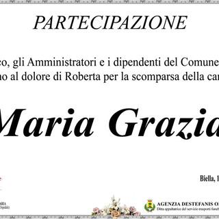 Partecipazione Maria Grazia