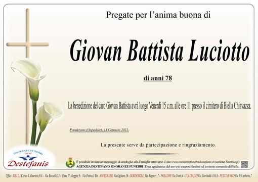 Giovan Battista Luciotto