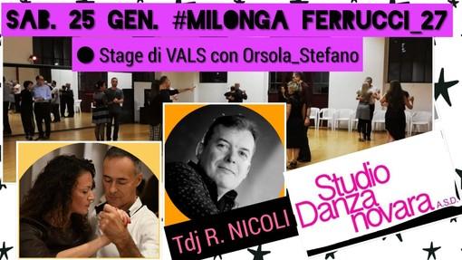 """I """"tangueros"""" biellesi invitati a Novara con un nuovo evento di Kìneos Danza"""