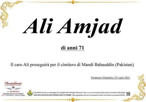 Ali Amjad