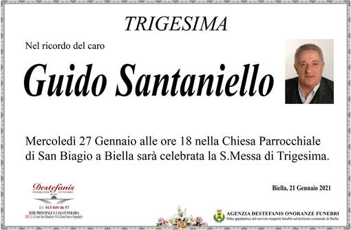 Guido Santaniello - Trigesima -