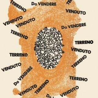 """""""Senza titolo"""" di Costantino Nivola (1966), in copertina di """"La costante resistenziale sarda"""" di Giovanni Lilliu, a cura di Antonello Mattone"""