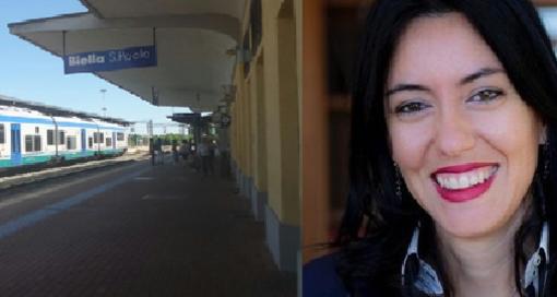 """Treni - Lucia Azzolina sull'attacco di Patelli: """"Manie di protagonismo? Mi sono interessata del Biellese"""""""