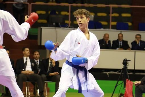 Karate, Ippon 2: Axel Aglietti maglia azzurra in Coppa del Mondo