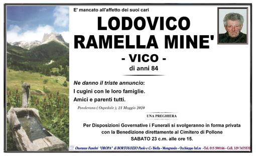 Lodovico Ramella Minè -Vico-