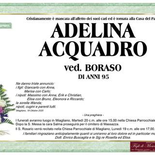 Adelina Acquadro Ved. Boraso