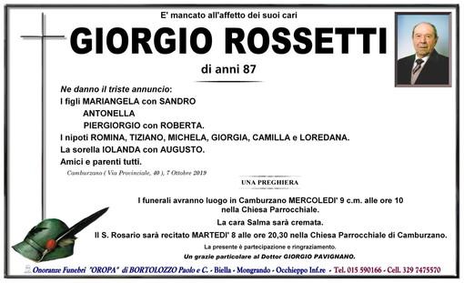 Giorgio Rossetti