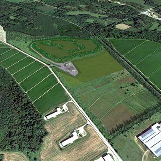 L'area su cui sorgerà il centro raccolta amianto incapsulato - Foto archivio newsbiella.it