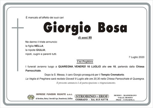 Giorgio Bosa