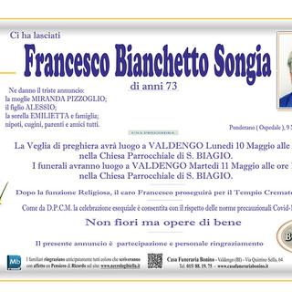 Francesco Bianchetto Songia