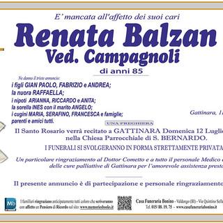 Renata Balzan Vedova Campagnoli