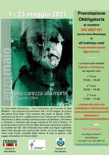 Foto pagina Facebook Casa Resistenza Sala Biellese