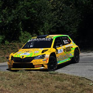 Sono l'ossolano Davide Caffoni, in coppia con Massimo Minazzi su una Skoda Fabia R5, i vincitori del 34. Rally Lana