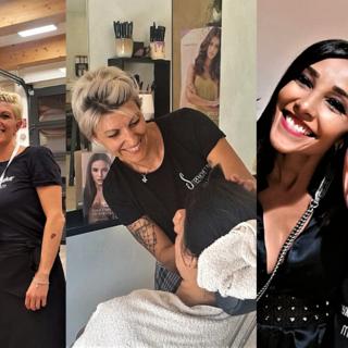 Barbara Strenghetto, la parrucchiera delle modelle FOTO e VIDEO