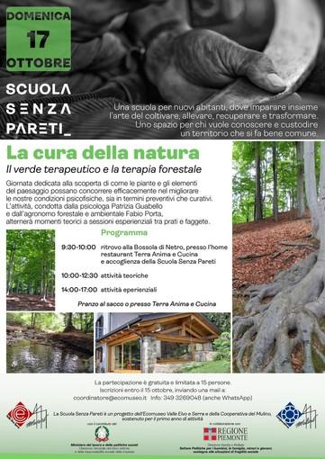 Domenica  terzo appuntamento  con La Cura della Natura - Foto Ecomuseo Valle Elvo e Serra