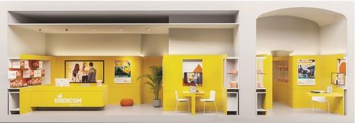 Enercom Luce e Gas apre il suo nuovo concept store a Biella