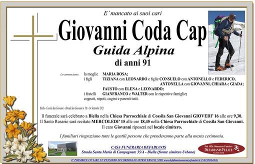 Giovanni Coda Cap