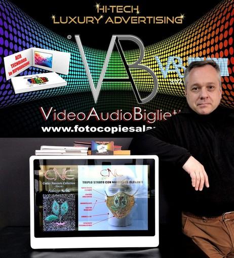 Nasce il primo Biglietto da Visita Elettronico: Il creatore è il biellese Fabrizio Salani VIDEO