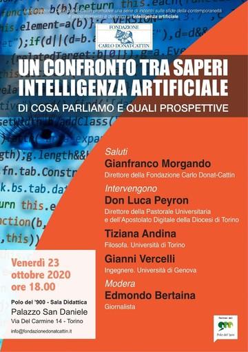 La fondazione Donat-Cattin organizza una videoconferenza sull'intelligenza artificiale