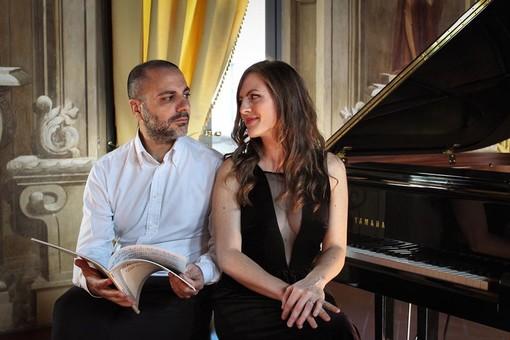 Il duo Costa e Casanova - Foto pagina FB Fondazione Perosi
