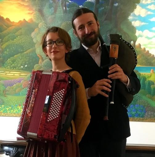 Sara Tamburini e Simone Stefan - Foto pagina FB Duo Trallallà