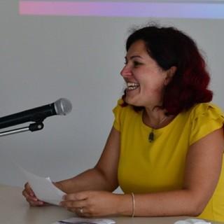 Il sindaco di Benna Cristina Sitzia - Foto pagina FB Comune Benna