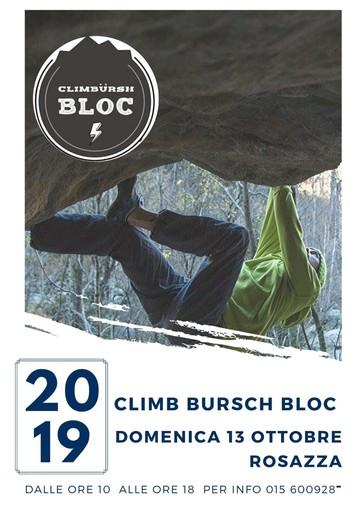 Climb e outdoor, a Rosazza va in scena il raduno boulder siglato Climb Bürsch Bloc